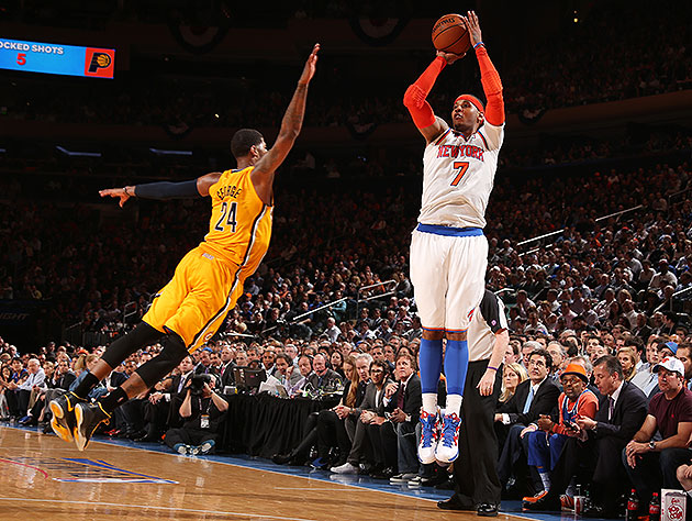 'Melo, Knicks leave Pacers plenty to ponder after New York win