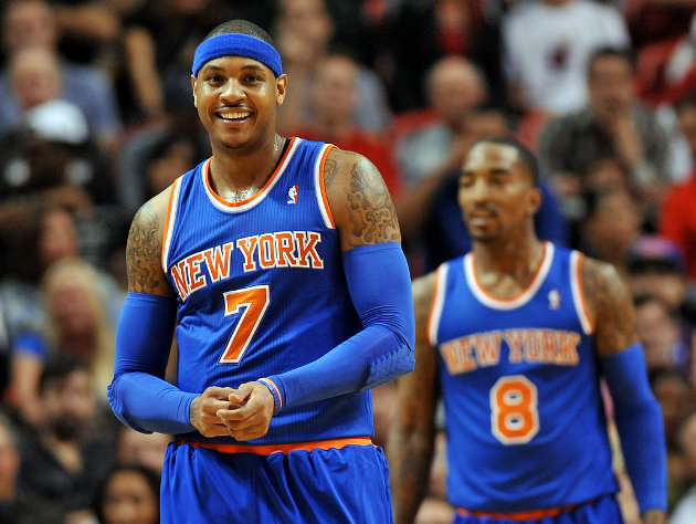 Carmelo Anthony ties career high with 50 points as Knicks beat …