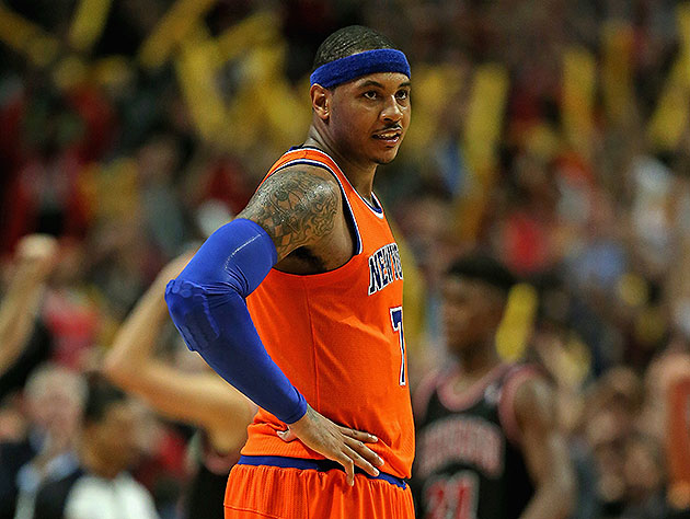 Carmelo Anthony: 'I want to retire in New York, let's just be q…