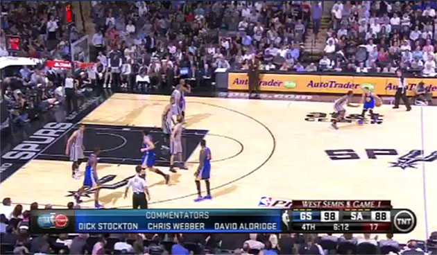 Spurs won't really change how they defend Stephen Curry, which …