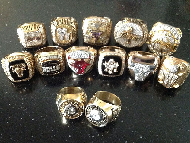Phil Jackson will gladly show you all 13 of his NBA championshi…