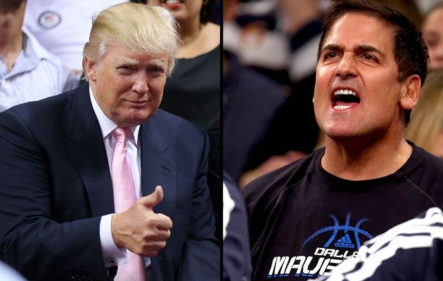 Twitter wars: Donald Trump vs. Mark Cuban