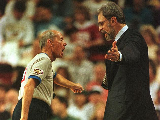 Phil Jackson takes a shot at longtime combatant Dick Bavetta on…