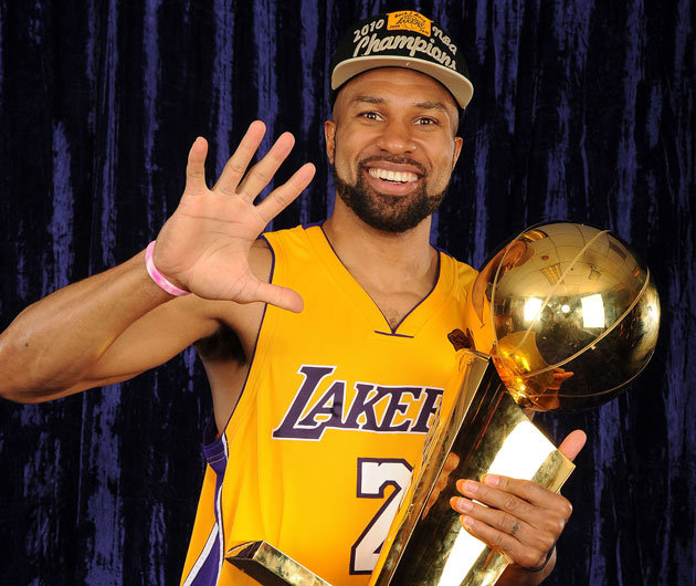 Marking Derek Fisher's return to the NBA with a celebration of …
