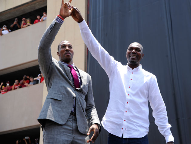 The Rockets are attempting to hire Hakeem Olajuwon full-time to…