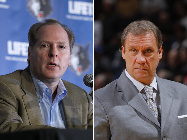 David Kahn is out as Timberwolves boss, according to a report, …