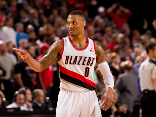 The Portland Trail Blazers Twitter account wonders if the team …