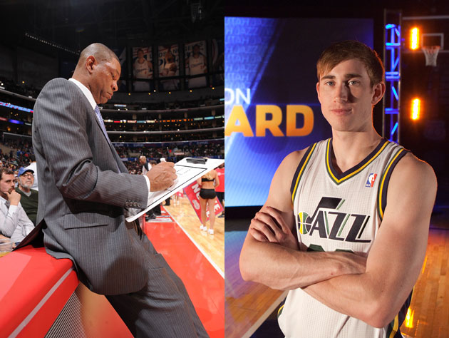 Doc Rivers admits to a 'man crush' on Utah's Gordon Hayward, an…