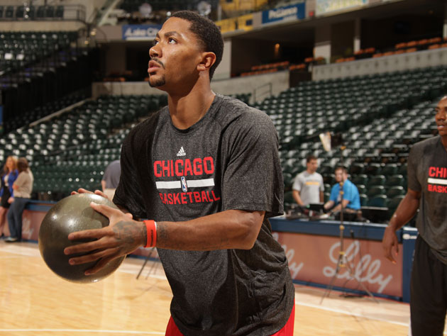 Derrick Rose was mildly frustrated at sitting out the end of Ch…