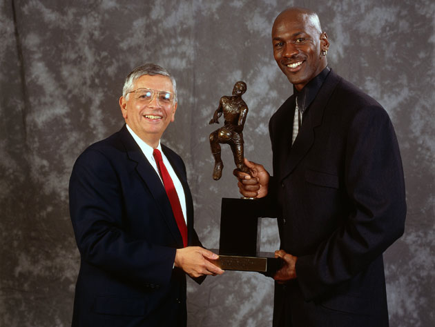 David Stern claims he calls up Michael Jordan to 'bust his chop…