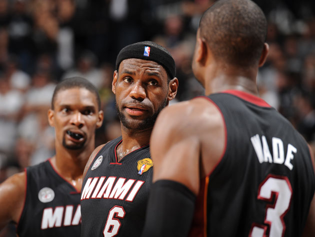 Miami's All-Stars come out in full force as the Heat down San A…