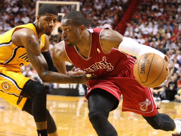 With Roy Hibbert sitting, Dwyane Wade and LeBron James spark a …