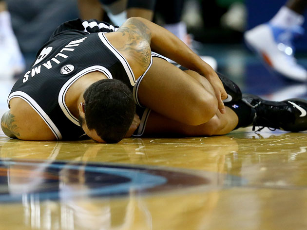 Deron Williams sprained his ankle again, which may not be the w…