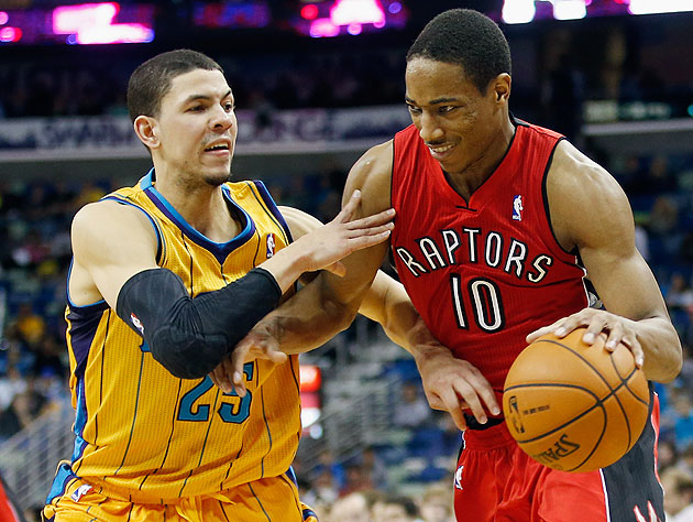 DeMar DeRozan watched game film instead of going out on New Yea…
