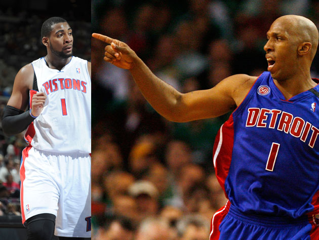 Andre Drummond gives up his uniform number in deference to Chau…