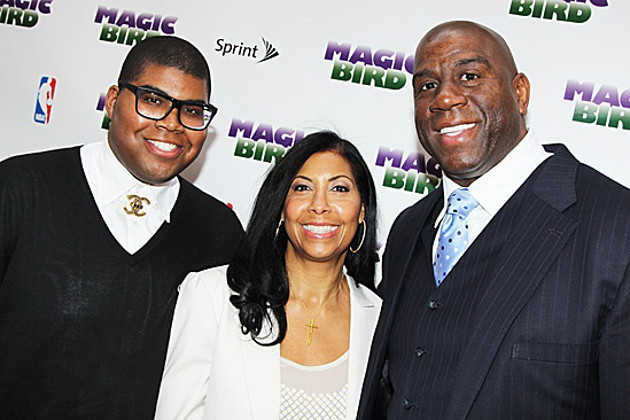 Magic Johnson speaks on son coming out, learning E.J. was gay, …