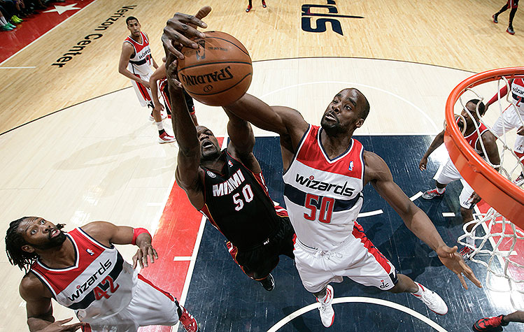 Washington Wizards' Emeka Okafor out indefinitely with herniate…