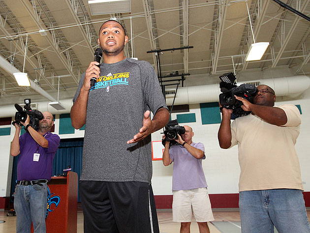 Eric Gordon, who plays for the Hornets, is 'looking forward to …