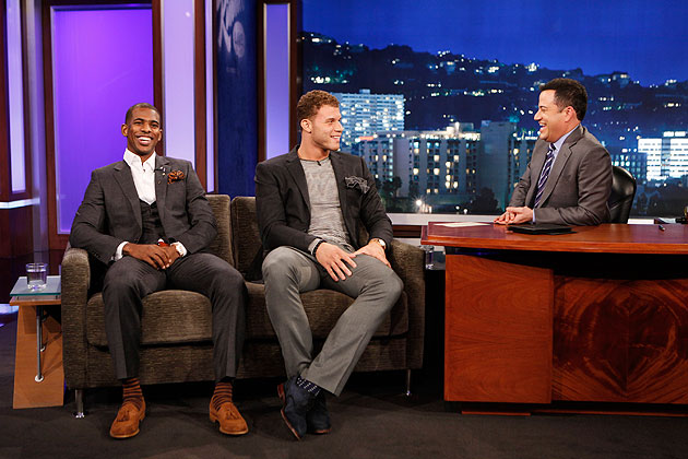 Chris Paul, Blake Griffin celebrate Clippers rise on 'Jimmy Kim…