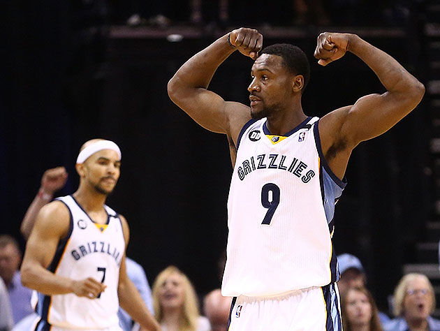 Tony Allen's 'back on [his] / Grizzly,' returning to Memphis on…