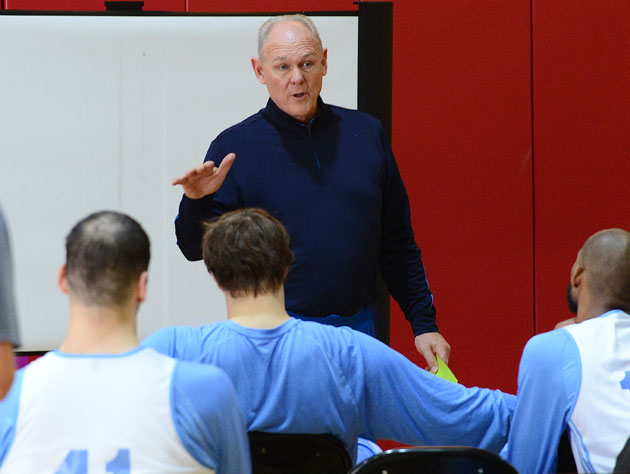 George Karl wins the 2012-13 Coach of the Year award