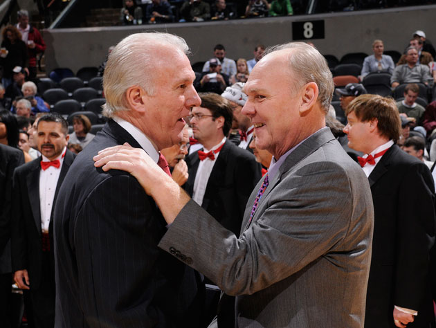 Gregg Popovich learned of his friend George Karl's firing from …