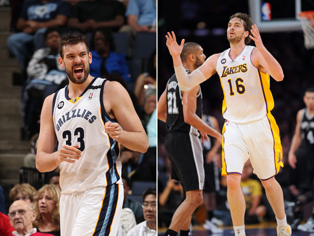 Pau Gasol pleads for brother Marc Gasol's help in pushing the L…