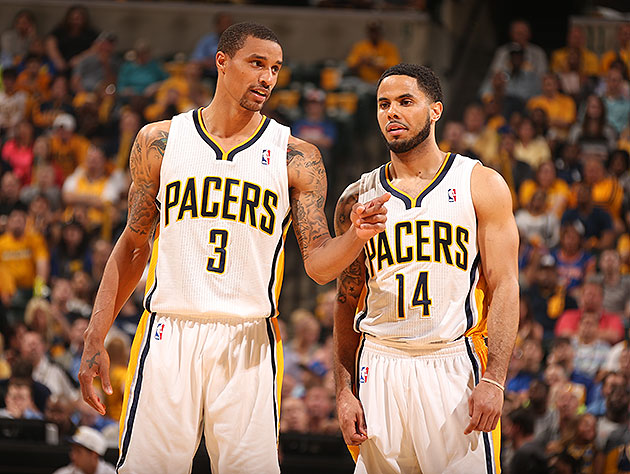 Pacers guard George Hill (concussion) out for Game 5 vs. Knicks