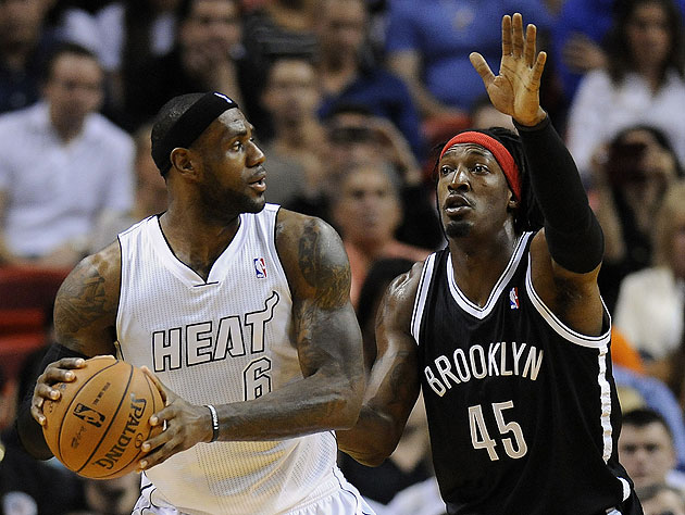 Brooklyn Nets' Gerald Wallace fined $5K for flops against Knick…