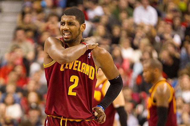 Irving out 3-4 weeks (shoulder)