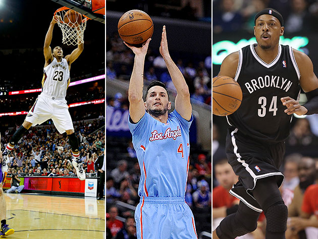 Hands down, men down: Anthony Davis, J.J. Redick, Paul Pierce a…