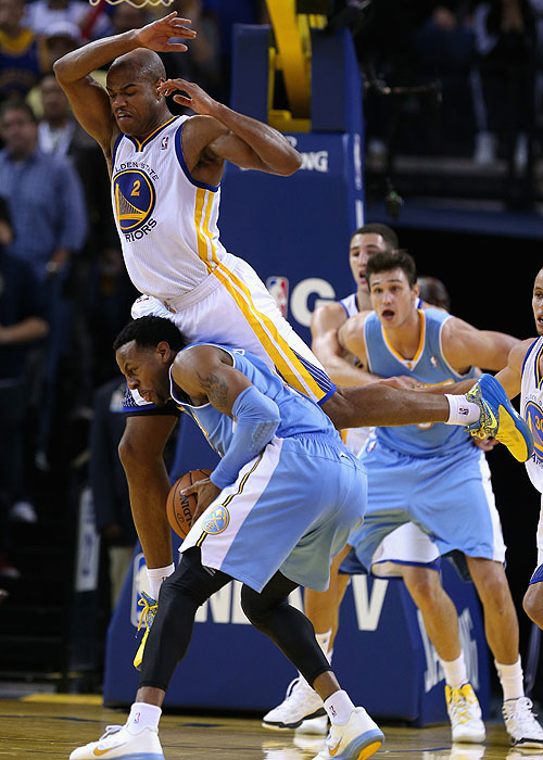 Create-a-Caption: Jarrett Jack and Andre Iguodala win the face …