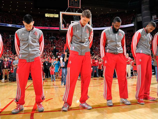 The Houston Rockets? Gone till November