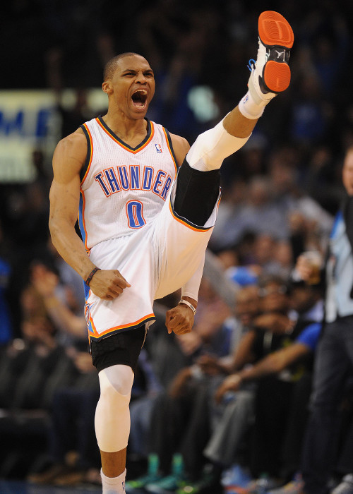 Create-a-Caption: Russell Westbrook, noted martial arts enthusi…