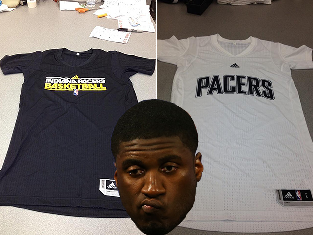 The Indiana Pacers will wear sleeved jerseys for Summer League,…