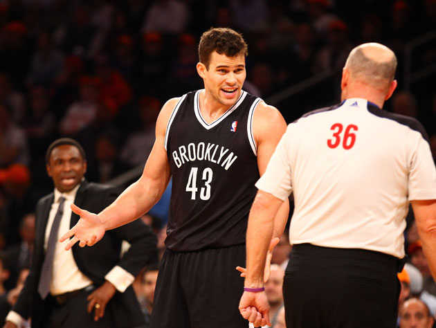 Kris Humphries is benched by the Brooklyn Nets as they look to …