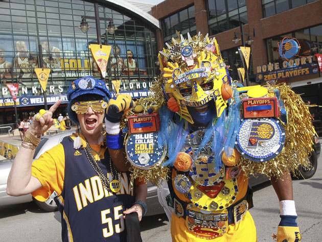 The Indiana Pacers' television affiliate is paying to encourage…