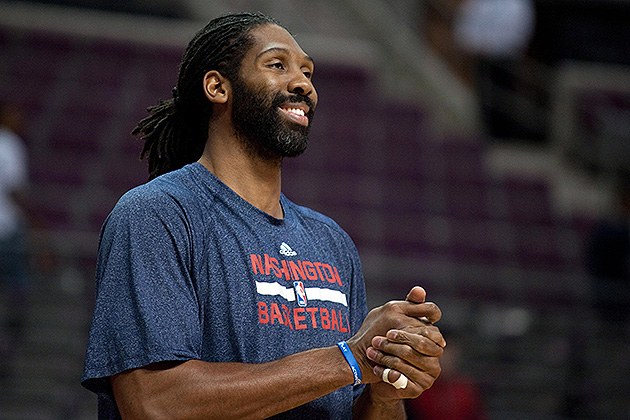 Nene's key to the Wizards scoring a win over the visiting Heat:…