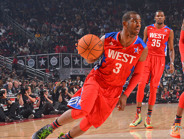 Chris Paul shines, wins MVP honors as West beats East in 2013 N…