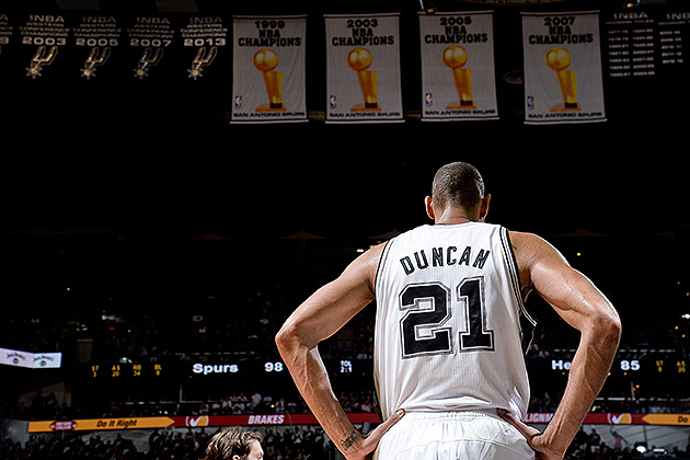 The 10-man rotation, starring the Spurs, 'a working example [..…