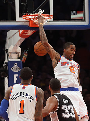 J.R. Smith turns waist-level lob into massive reverse alley-oop…