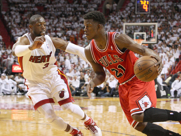 The Chicago Bulls stun the Miami Heat to open the conference se…