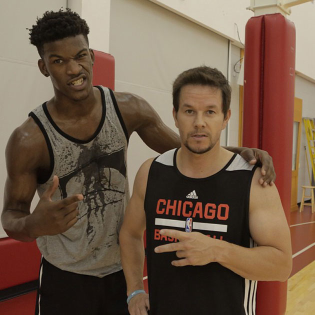 The 10-man rotation, starring Jimmy Butler playing ball with Ma…