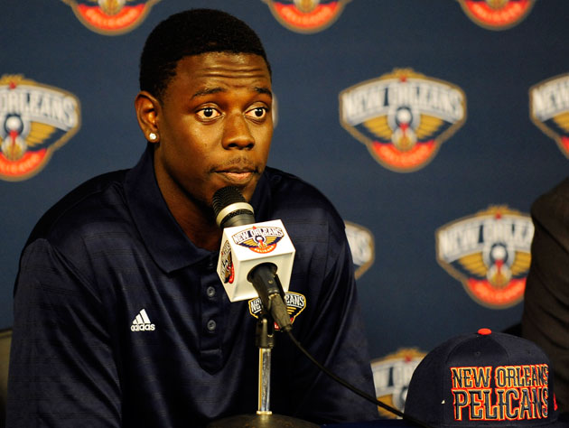New Orleans Pelicans guard Jrue Holiday on his new team's name:…