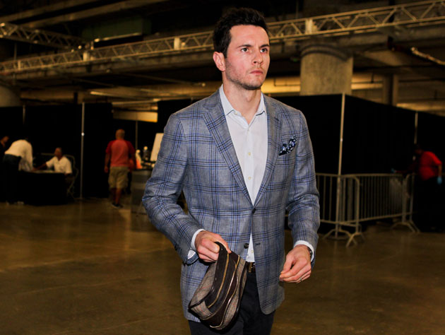 J.J. Redick claims that he hasn't spoken to Bucks coach Jim Boy…