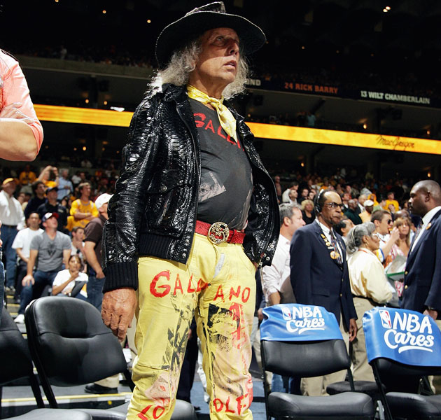 Immediate Twitter must-follow: NBA super-fan Jim Goldstein