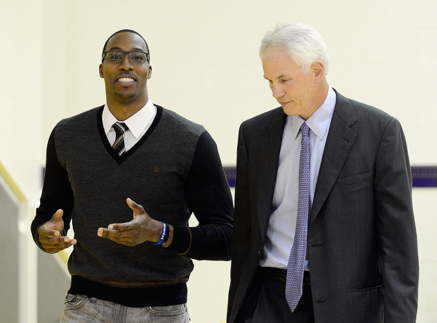 Lakers GM Mitch Kupchak: 'We're not trading Dwight Howard'