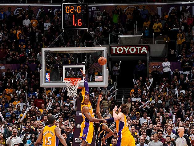 George Hill's game-winning layup pushes Pacers past Lakers (VID…