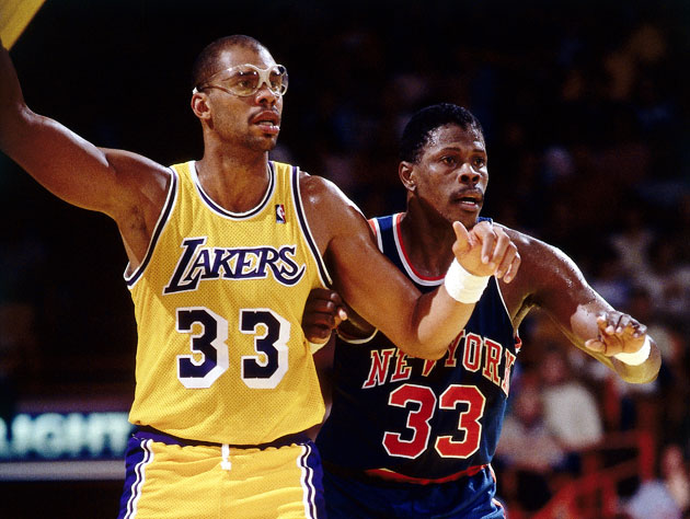 Both Patrick Ewing and Kareem Abdul-Jabbar are curious about Ja…
