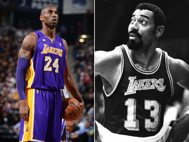 Kobe Bryant passes Wilt Chamberlain to become the fourth-leadin…